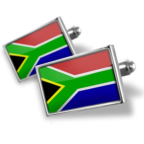 Cufflinks South Africa Flag - Neonblond by NEONBLOND