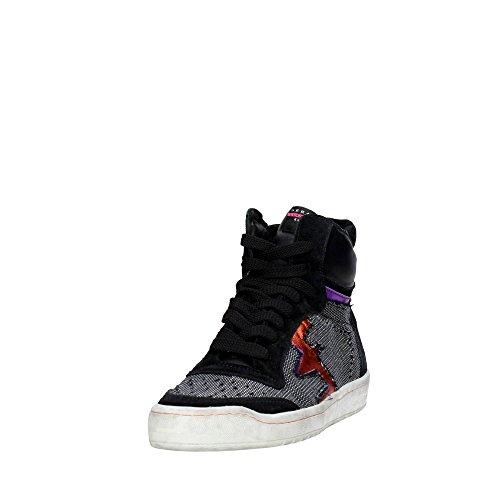 Gris noir Femme Haute Serafini Sneakers Camp 9 F0nqH4