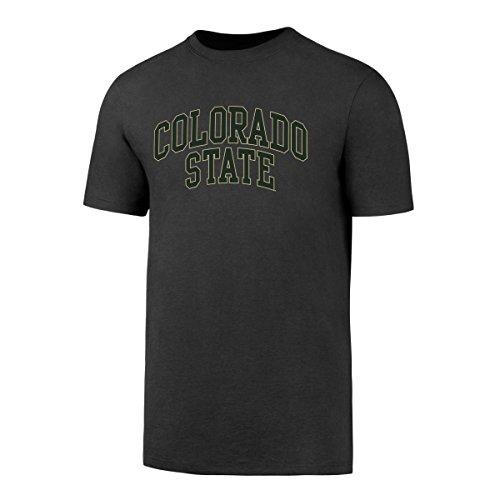 OTS NCAA Colorado State Rams Men's Alt Rival Tee, Charcoal, Medium (Logo Rams State Colorado)