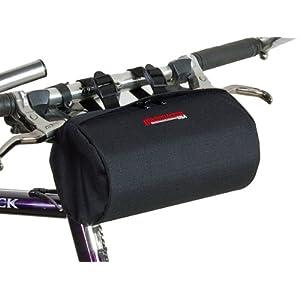 Bushwhacker Cody Black Bicycle Handlebar & Seat Bag Cycling Pack Bike Cylinder Saddle Bag Rear Front Accessories Frame