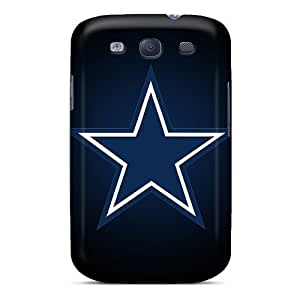 Durable Defender Case For Galaxy S3 Tpu Cover(dallas Cowboys 1)