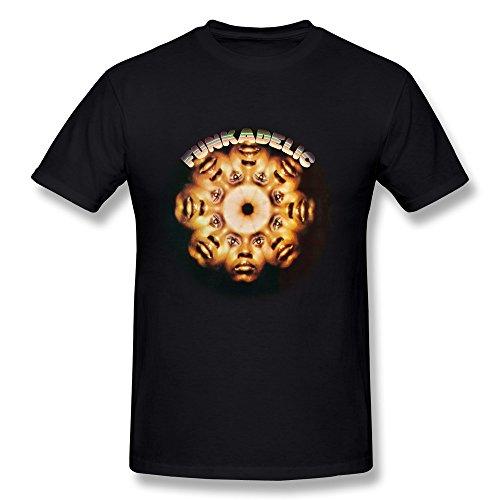 Masam Men's Funkadelic Faces T Shirt (Funkadelic T Shirt)