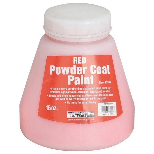 16 Oz. Powder Coat Paint - Red from TNM by HF