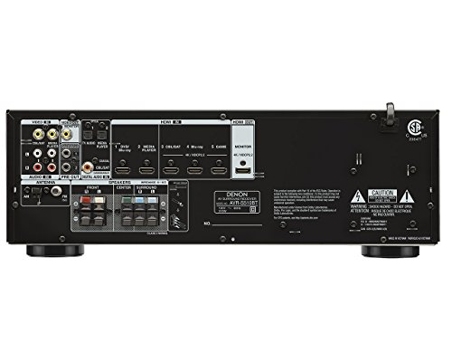 Review Denon AVR-S510BT 5.2 Channel