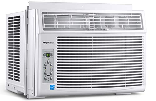 Amazon Basics Window-Mounted Air Conditioner with Remote – Cools 450 Square Feet, 10000 BTU, Energy Star