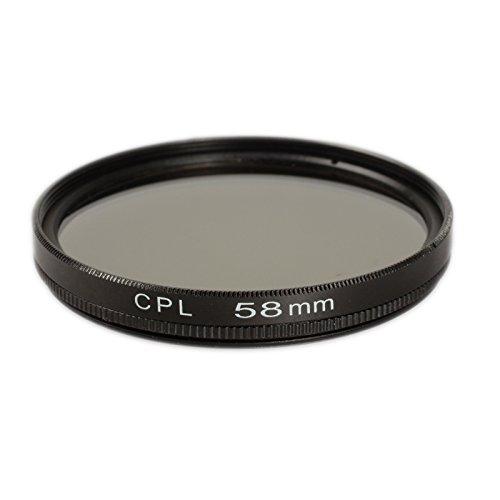 Ares Foto/® Filtro polarizador 58mm para Fujifilm Fujinon XF18-55mm F2.8-4 T LM OIS