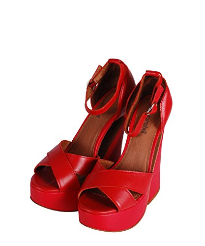 Jeffrey Campbell - zapatos mujer Red