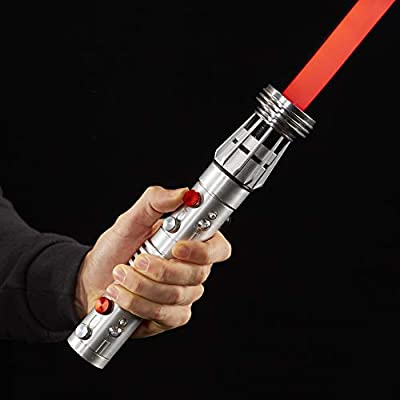 Star Wars The Black Series Darth Maul Ep1 Force FX Lightsaber Toy: Toys & Games