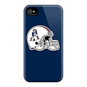 Fashion Tpu Case For Iphone 6- New England Patriots 8 Defender Case Cover