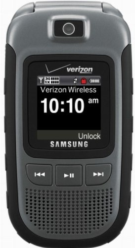 Samsung Convoy U640 Phone For Verizon Wireless Network With No Contract  (Gray) Rugged