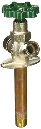 """Prier C-144D04 4"""", Full Turn Wall Inlet MPT x 1/2"""" SWT Anti-Siphon Freezeless Hydrant, 4"""""""