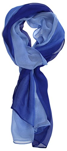 Ted and Jack - Silk Ombre Lightweight Accent Scarf (Celtic -