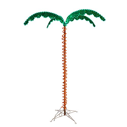 (Green LongLife 8080104 Decorative Palm Tree Rope Light)