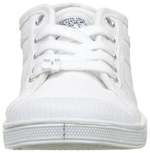 Le Temps des Cerises Mädchen LC-Basic 02-SS/Perm Flach Blanc (white)