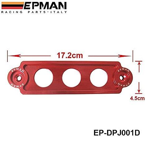 Car Racing Battery Tie Down Bracket Lock Anodized for JDM Honda Civic//CRX 88-00
