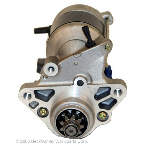Beck Arnley Starter Motor - Beck Arnley 1870778 Remanufactured Starter
