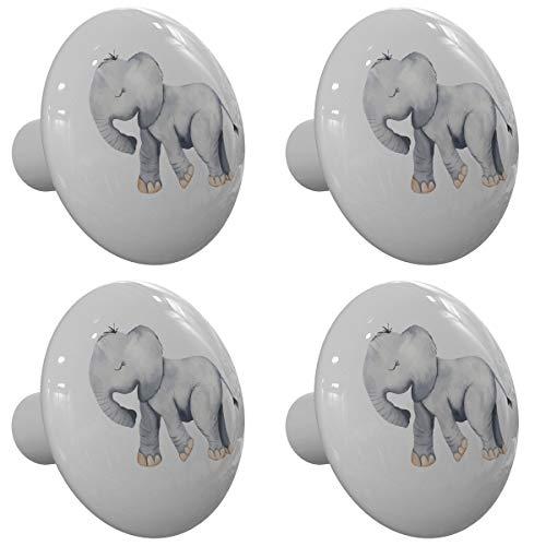 elephant dresser knobs - 6