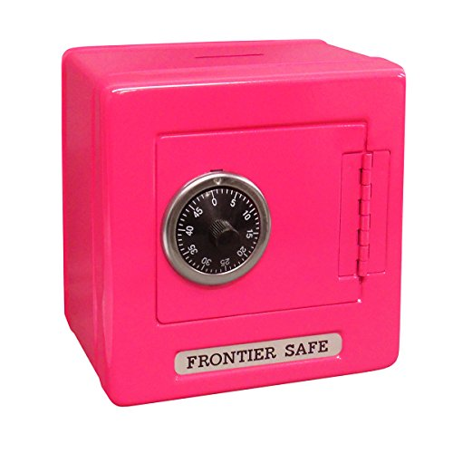 Mini Lockers by Magnetic Impressions Kid's Frontier Safe Coin Saver Bank with 2 Digit Combination Lock - 5.25