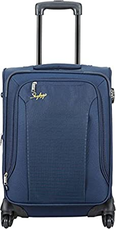 Skybags Footloose Napier Polyester 66 cms Blue Softsided