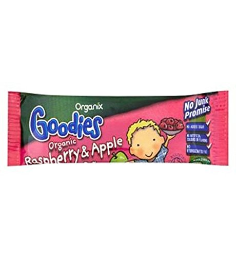 Organix Goodies Organic Apple & Raspberry Soft Oaty Bar 30G - Pack of 6