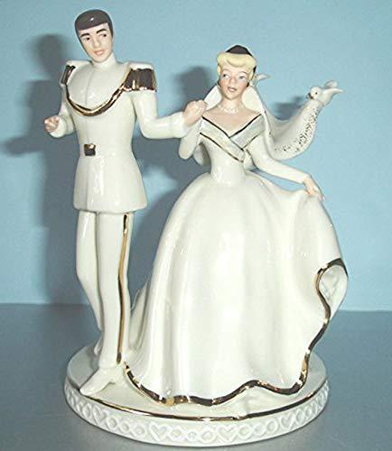 s Cinderella Wedding Cake Topper Figurine New in Box ()