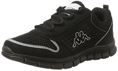 Kappa Noir Mixte Sneakers Black Basses Amora Adulte 1111 zRqzcr7W8