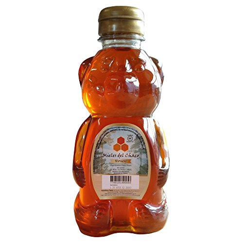 Price comparison product image Argentina Forest Honey Mieles del Chaco in Honey Bear,  12 Ounce