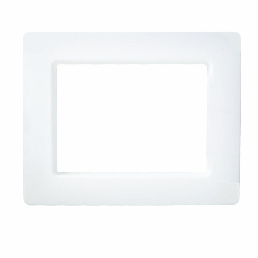 LSP OB-901 Face Plate for Outlet Box Wirsbo, White