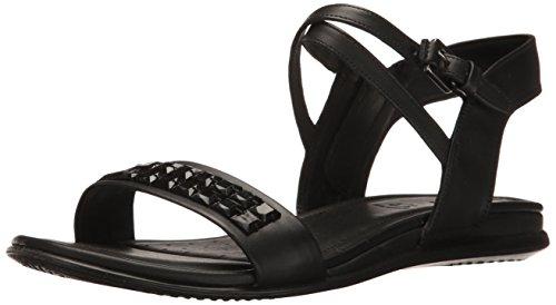 Ecco Womens Womens Kontakt Pyntet Kjole Sandal Sort