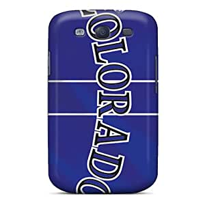 Best Cell-phone Hard Covers For Samsung Galaxy S3 (OTt4598xhmU) Allow Personal Design Lifelike Colorado Rockies Image