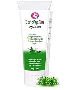 Amazon.com: Boric Acid Vaginal Cream with Organic Aloe