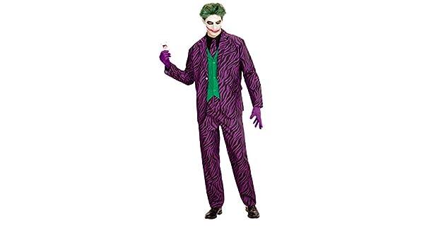 NET TOYS Disfraz Hombre Joker Malo - M (ES 50) | Traje ...