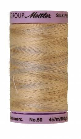 (Mettler 9085 Silk-Finish Variegated Cotton Thread 50 wt. 500 Yd/457 M Spool)