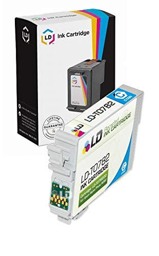LD Products Remanufactured Ink Cartridge Replacement for Epson T078220 ( Cyan )