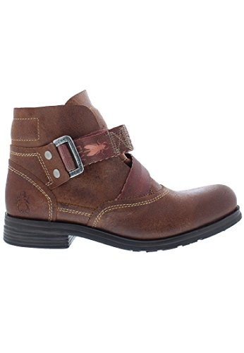 Leather Boots Fly London Saji 047 Brown Womens qwIwAX