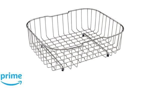 Franke 112.0047.840 cesta y bandeja para el fregadero - cestas y bandejas para el fregadero (Cromo, Acero inoxidable, 40 cm): Amazon.es: Bricolaje y ...
