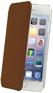 Muvit MUCRF0023 - Funda para Apple iPhone 6 Plus, marrón