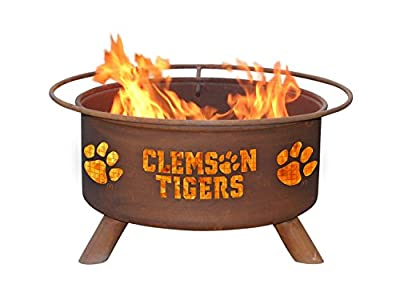Patina Products F222, 30 Inch Clemson Fire Pit
