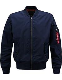 Men's Classic Nylon Baseball Air Jackets