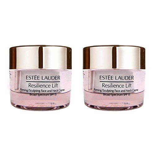 New! 2 X Estee Lauder Resilience Lift Firming/sculpting Face & Neck Creme 30ml