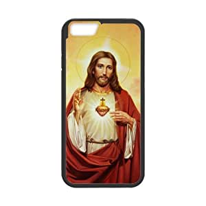 """Renaissance Collection,Jesus Catholic Christian Religious Gift Holy and Miraculous Jesus Christ The Son Of God Plastic and TPU (Laser Technology) cases for Apple iphone 6 (4.7"""" inch)"""