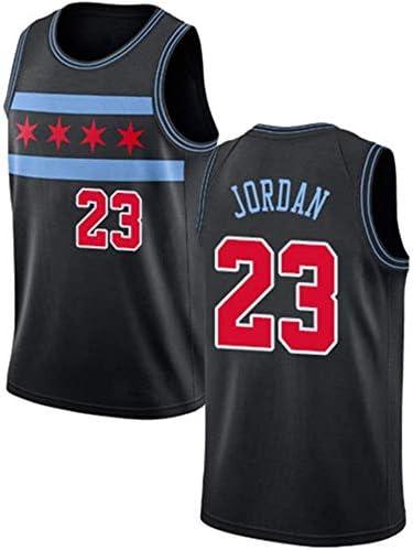NBA Michael Jordan Chicago Bulls # 23 de Bordado de Malla de Baloncesto Swingman Jersey June Bart Camiseta de Baloncesto para Hombre,Jersey Mujeres de los Hombres
