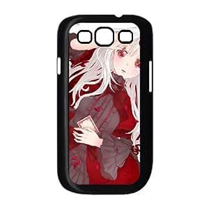 Anna Kushina Samsung Galaxy S3 9300 caja del teléfono celular funda Negro caja del teléfono celular Funda Cubierta EOKXLKNBC04427