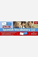 Berlitz Spanish Vocabulary Study Cards