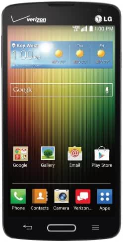 LG Lucid 3, Black 8GB (Verizon Wireless)