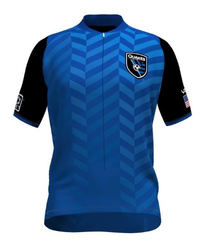quality design ddf95 ec638 MLS San Jose Earthquakes Men's Primary Short Sleeve Vomax Jersey