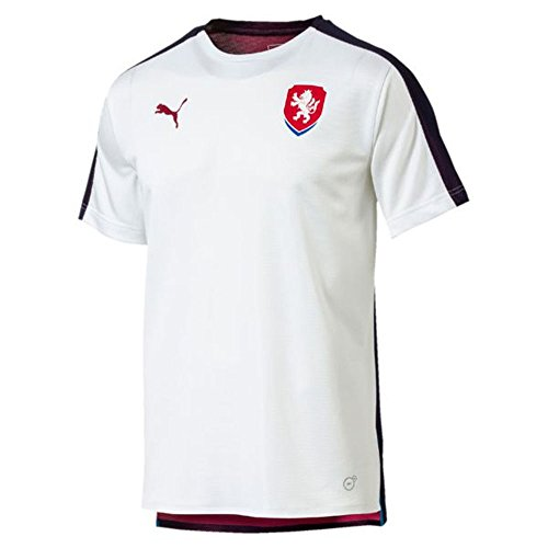 PUMA 2018-2019 Czech Republic Stadium Jersey (White)