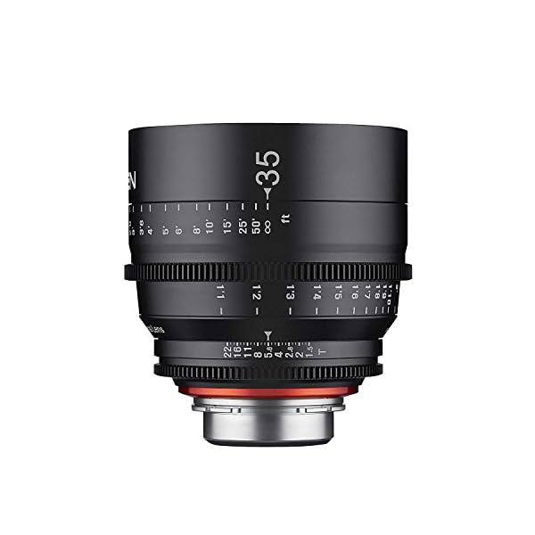 RetinaPix Samyang XEEN 35mm T1.5 Professional Cinema Lens for Canon EF Mount