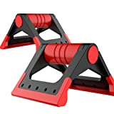 HDWY Foldable Push-Up Bar Stand Foam Handle Chest Exercise Training Sport Equipment For Men And Women In Home Gym –1 Pair