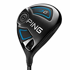 With the G fairway woods, getting the ball in the air is easy with their lower lead edge, which gets the club under the ball so impact occurs higher on the face..Our thinnest crown ever in a PING fairway wood allows for a low-back CG to ensur...